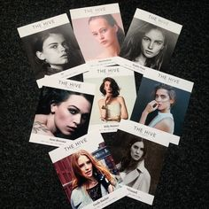 The first cards have arrived! #thehivemodels #thehivelaunch