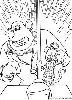 Flushed Away coloring picture Coloring and Activities Pinterest