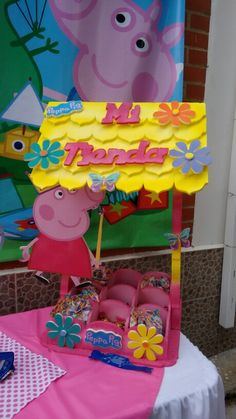 Candy Bar Peppa Pig