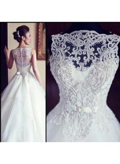Special Design Bridal Gowns On Sale 2104 Designer Beading Tulle Lace Princess Wedding Dresses WD0028
