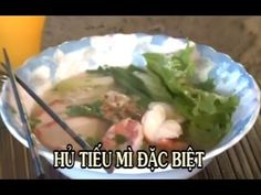Hu Tieu Mi Dac Biet - Xuan Hong - YouTube Asian Noodles, Rice Noodles, Vietnamese Recipes, Vietnamese Food, Noodle Soup, Guacamole, Cooking, Ramen, Ethnic Recipes