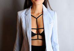 A Pair & A Spare | DIY Strapped bra top