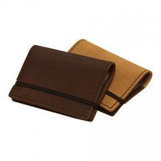 Porte cartes en cuir fermoir elastique  par Lakange