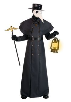 Take it back to the age of the Plague! This Classic Plague Doctor Costume will be the perfect scary costume for your costume party! Plague Doctor Halloween Costume, Doctor Costume, Scary Halloween Costumes, Halloween 2020, Halloween Outfits, Halloween Ideas, Happy Halloween, Dark Costumes, Costumes For Sale
