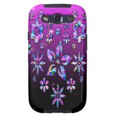 Caso florido de Galaxi S3 Capa Galaxy S3