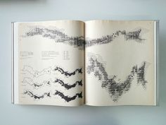 Maps, Graphs by rallovallo. across double page. Architecture Mapping, Architecture Sketchbook, Architecture Graphics, Architecture Diagrams, Architecture Portfolio, Information Visualization, Data Visualization, Map Design, Graphic Design