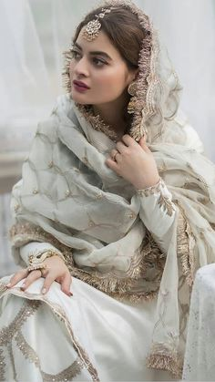 Hijab Wedding Dresses, Pakistani Wedding Outfits, Party Wear Dresses, Simple Pakistani Dresses, Pakistani Dress Design, Simple Dresses, Stylish Dresses, Fashion Dresses, Punjabi Suits Designer Boutique