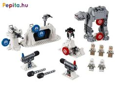 Build and play a fun LEGO® Star Wars™ Battle of Hoth action construction toy! Star Wars Épisode 4, Lego Star Wars Minifiguren, Star Wars Minifigures, Star Wars Toys, At-at Walker, Dino Kids, Lego Group, The Empire Strikes Back, Lego News