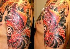 koi dragon tattoo - Google Search