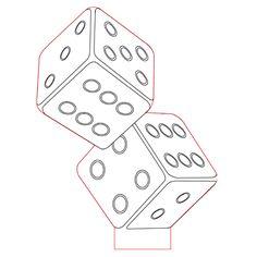 Bricks 3d illusion light plan vector file for CNC - 3bee-studio