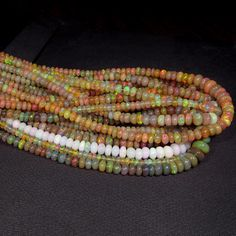 562ct 3mm 7mm Wholesale Lot of Natural Real Ethiopian Opal Quality Beads $NR   eBay