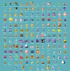 Pokemon Go 3D Models
