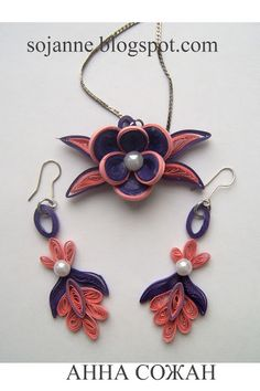 quilled jewelry