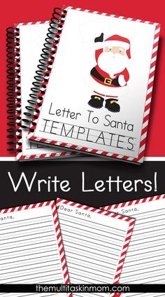 This FREE Letter to Santa Templates are the perfect way to get your children learning without even realizing it.