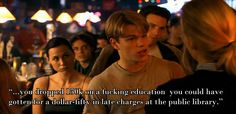 While I don't regret going to college, this line has always made me think. - Imgur