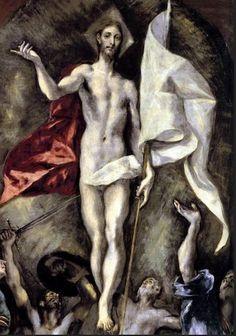 Nouveau Testament La résurrection du Christ (détail) El Greco (Le Prado, Madrid)