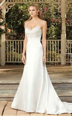 Wedding Dress 2275 Bluebell by Casablanca Bridal - Search our photo gallery for pictures of wedding dresses by Casablanca Bridal. Find the perfect dress with recent Casablanca Bridal photos. Spring 2017 Wedding Dresses, Bridal Wedding Dresses, Wedding Dress Styles, Designer Wedding Dresses, Bridal Style, Spring Wedding, Trumpet Style Wedding Dress, Gorgeous Wedding Dress, Wedding Gown Gallery