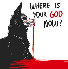 "If you're still taking requests could you maybe do a canine skull creature with the words ""where is your God now? Wolf Quotes, Dark Quotes, Vent Art, She Wolf, Werewolf, Writing Prompts, Dark Art, Dark Side, Character Inspiration"