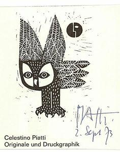 Detailansicht - Piatti, Celestino, Graphiker (1922–2007).