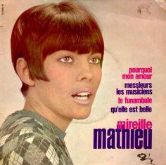 Mireille Mathieu Pourquoi mon amour (1966) Crop Hair, Jolie Photo, Movie Posters, Movies, Short Hair, Blog, Hair Styles, Musica, Singer