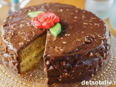 Søk etter oppskrifter   Det søte liv Pudding Desserts, Let Them Eat Cake, Chocolate Cake, Granola, Muffins, Food And Drink, Favorite Recipes, Sweets, Baking