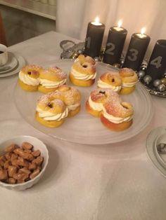 Lussesemlan – kreativbakning Christmas Baking, Christmas Fun, Christmas Recipes, Swedish Recipes, Mulled Wine, Fika, Christmas Inspiration, Finger Foods, Nom Nom