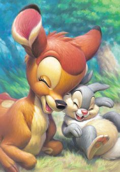 Bambi en Thumper so cute!!!!!