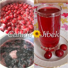 konsantre vişne suyu yapımı Alcoholic Drinks, Beverages, Liqueur, Homemade Beauty Products, Iftar, Beautiful Cakes, Smoothies, Food And Drink, Cooking Recipes
