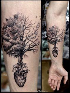 46 Ideas Tree Of Life Tattoo Drawing Roots tattoo 46 Ideas Tree Of Life Tattoo Drawing Roots Tree Roots Tattoo, Tree Sleeve Tattoo, Sleeve Tattoos, Tree Bird Tattoo, Tree Heart Tattoo, Tattoos For Guys, New Tattoos, Tatoos, Tree Of Life Artwork
