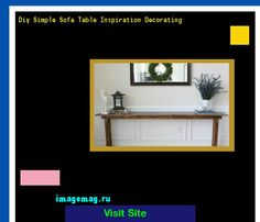 Diy Simple Sofa Table Inspiration Decorating 165848 - The Best Image Search