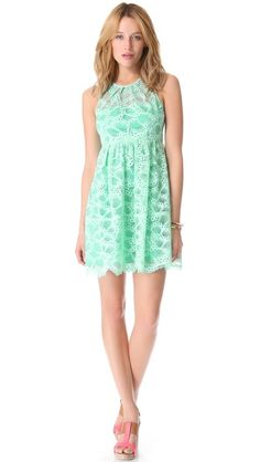 Nanette Lepore Secret Escape Dress | selected by jamesdrygoods.com for the made in america: contemporary project | #madeinusa |