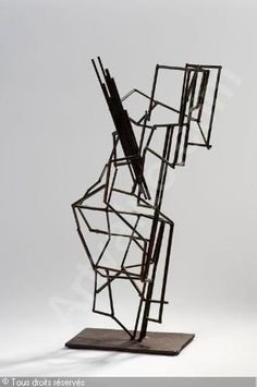 André Lucien Albert Bloc, 1896-1966 (France)  Untitled  Welded and rusty steel