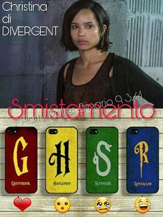 Adesso tocca a smistare #Christina di #Divergent ⚡ Tocca a voi #CappelloParlante ⚡  ⚡Hermione⚡
