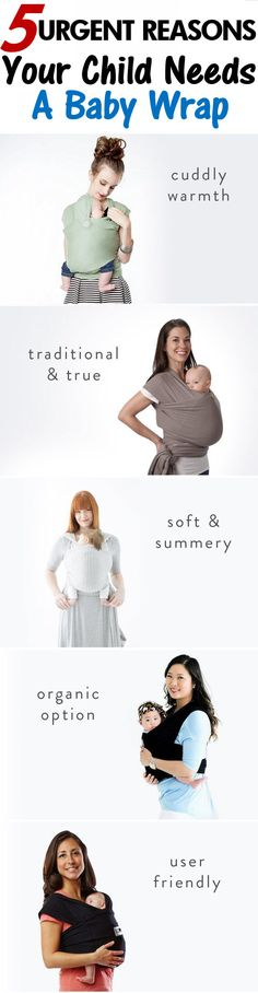 5 Benefits of Babywearing for Moms - the health benefits will surprise you! https://mommababygear.com/pages/5-reasons-moms-need-to-be-babywearing?utm_source=pinterest&utm_campaign=description-pin