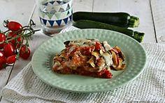 Sformato di zucchine e scamorza al forno - Piatto rustico, filante e gustoso