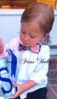 Suit Accessory Little Boy Ties Bow Ties For Toddler