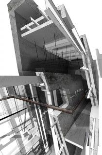 Thesis exhibit for architecture students
