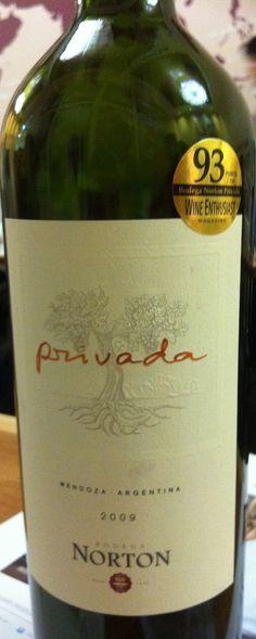 Cravings: Bodega Norton Wine Tasting for the Non-Connoisseur. Pick of the evening? Bodega Norton Privada!