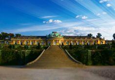 Potsdam Sehenswürdigkeiten: Schloss Sanssouci