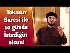 Tekasur Suresi ile 10 günde istediğin olsun! - Mücahid Han - YouTube Youtube, Allah, Olinda, God, Allah Islam