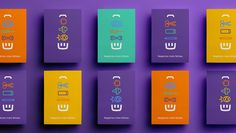 The visual identity developed for Hiper brings the concept of simplicity, shopping and Happiness Layout Design, Book Design, Cover Design, Mises En Page Design Graphique, Food Graphic Design, Name Card Design, Letterhead Design, Think, Identity Design
