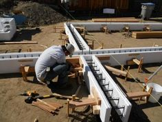 High Performance Foundation Technology: Insulating Concrete Forms (ICF). | Silicon Valley Zero Energy Home