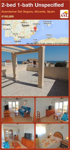 Unspecified for Sale in Guardamar Del Segura, Alicante, Spain with 2 bedrooms, 1 bathroom - A Spanish Life Valencia, Portugal, Alicante Spain, Natural Park, Cool Apartments, Playground, Pergola, Outdoor Structures, Bath