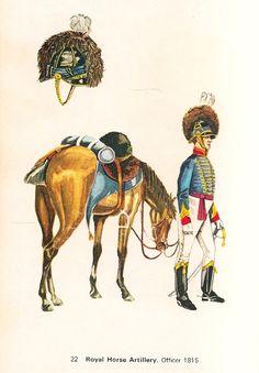 British Army Uniform, British Uniforms, British Soldier, Battle Of Waterloo, Waterloo 1815, Royal Horse Artillery, Napoleonic Wars, Modern Warfare, Military History