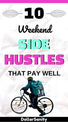 This is the list of side and part-time jobs you can use to make extra money over the weekend. These side hustle ideas are all legit and pay well. Make Money From Home, How To Make Money, How To Become, Weekend Jobs, Bookkeeping Services, Jobs For Women, Becoming A Teacher, Changing Jobs, Part Time Jobs