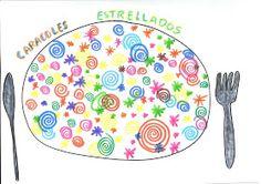 Mis cosicas de segundo: LA COCINA DE DIBUJOS Painting For Kids, Art For Kids, Herve, Creative Kids, Art Education, Arts And Crafts, Shapes, Math, Learning