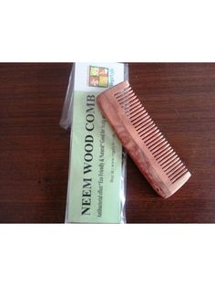 Pocket Neem Wood Comb Buy here: http://www.vegalyfe.com/pocket-neem-wood-comb-pocket.html