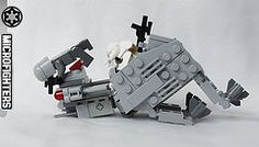 ATAT_Hoth fall2 (BH's) Tags: star lego walker wars atat microfighters