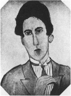 Portrait de Jean Cocteau par Kiki, 1926. La société artistique de Montparnasse.  Kiki's Paris artists and lovers.