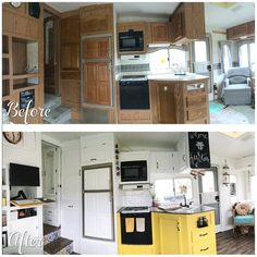52 camper makeover ideas before after